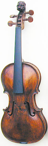 Lion Head 1/2 Violin, Baroque, ~1700