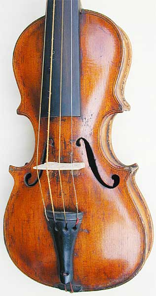 Dancemaster Violin - Pochette Baroque, table