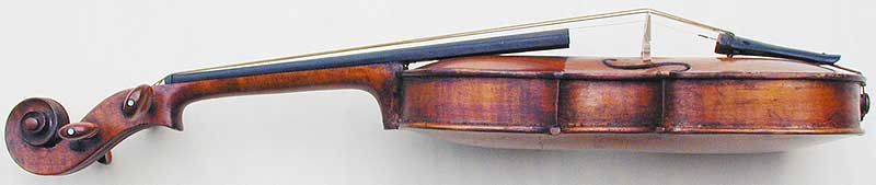 Dancemaster Violin - Pochette Baroque, side