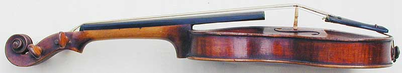 Chanot Type Dancemaster Violin, side
