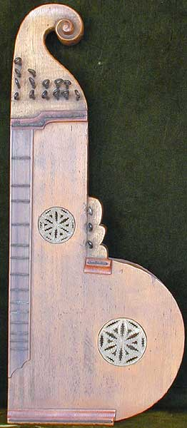 Early Musical Instruments, antique Zither or Cittern by Joseph Rieger