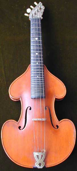 Early Musical Instruments, antique Viola or Streich Zither or Cittern around 1880