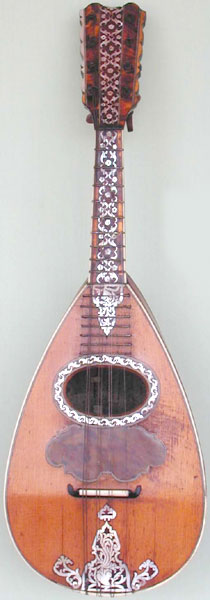 Early Musical Instruments, antique Mandolin by Giovanni Battista Fabricatore