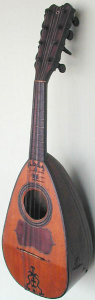 Early Musical Instruments, antique Mandolin by Pietro Lippi