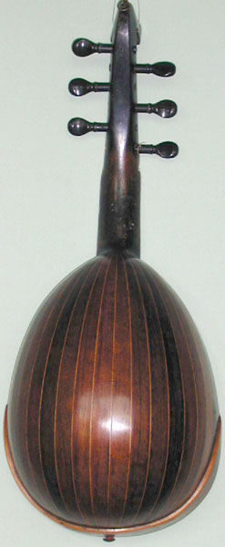 Early Musical Instruments, antique Mandolin by Carlo Albertini