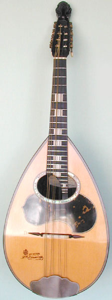 Early Musical Instruments, antique Mandolin by Vinaccia