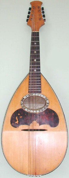 Early Musical Instruments, antique Mandolin by Raffaele Calace