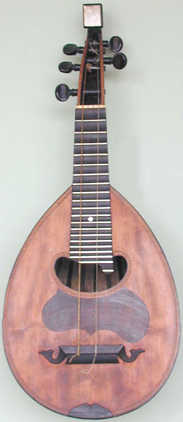 Early Musical Instruments, antique Mandolin by Anonymous