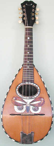 Early Musical Instruments, antique Mandolin by Carlo Ri........
