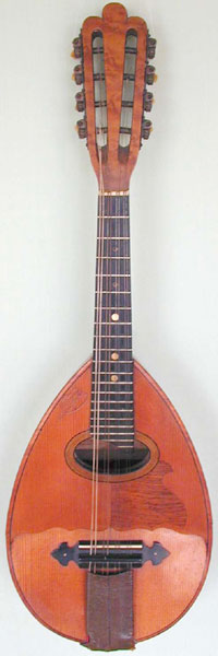 Early Musical Instruments, antique Mandolin by J. R. Gelas