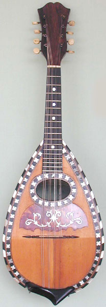 Early Musical Instruments, antique Mandolin by Perrari