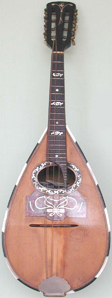 Early Musical Instruments, antique Mandolin by G. Puglisi, Reale & Figli