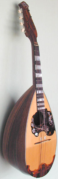 Early Musical Instruments, antique Mandolin by Raffaele Calace & Figlio
