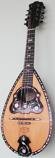 Early Musical Instruments, antique Mandolin by Giovanni De Meglio