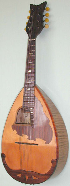 Early Musical Instruments, antique Mandolin by E. de Cristofaro