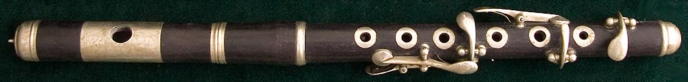 Early Musical Instruments, antique ebony Piccolo 1890s