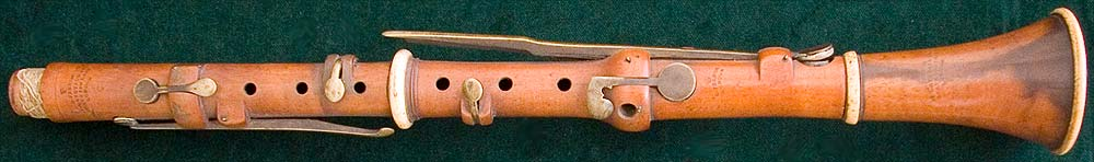 Early Musical Instruments, antique Clarinet by G. French
