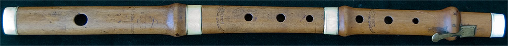 Early Musical Instruments, antique boxwood Piccolo by Robert Wolf & Co.