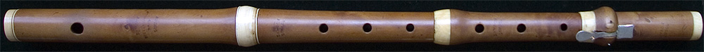 Early Musical Instruments, antique boxwood Flute by Joseph Lawson