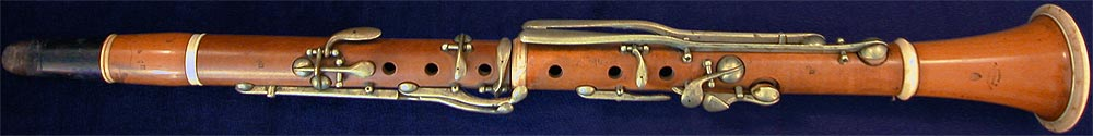 Early Musical Instruments, antique Clarinet by Gautrot Ainé