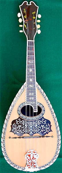 Early Musical Instruments, antique Mandolin by Stridente dated 1916