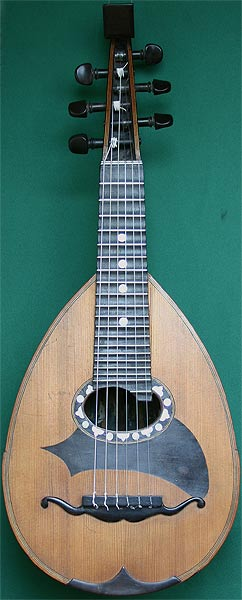 Early Musical Instruments, antique Mandolin by Carlo Albertini (?)
