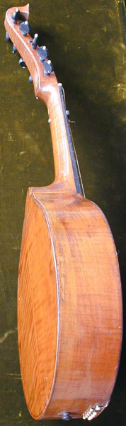 Early Musical Instruments, antique English Guitar by R. Liessum