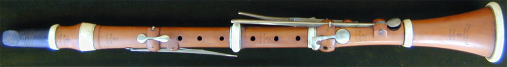 Early Musical Instruments, antique Clarinet by Bilton