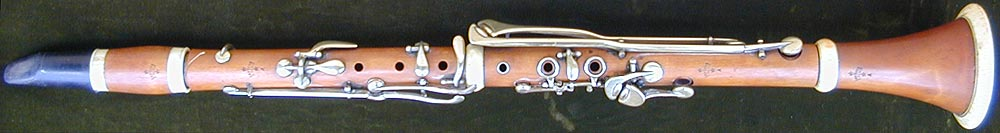 Early Musical Instruments, antique Clarinet by Lefèvre