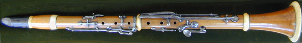 Early Musical Instruments, antique Clarinet by Darché