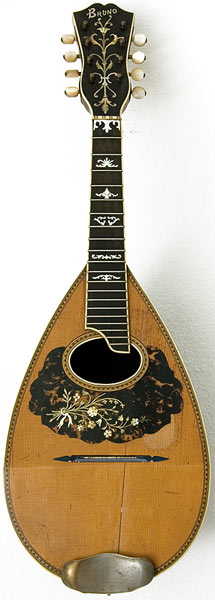 Early Musical Instruments, antique Mandolin