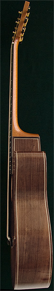 Early Musical Instruments, Classical Guitar by Oskar Graf dated 1994