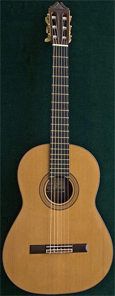 Early Musical Instruments, Classical Guitar by Marcelino Lopez dated 2007