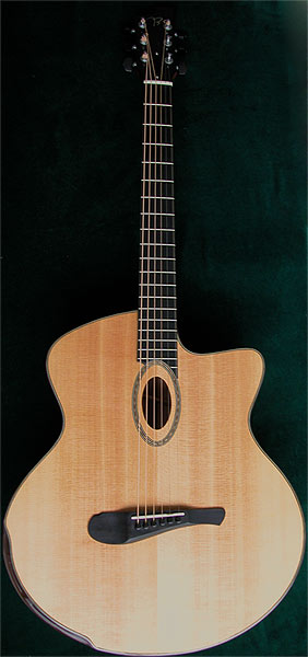 Early Musical Instruments, Custom Guitar by Allan Beardsell