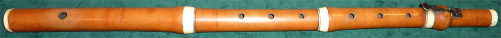 Early Musical Instruments, antique boxwood Flute by Goulding & Co.