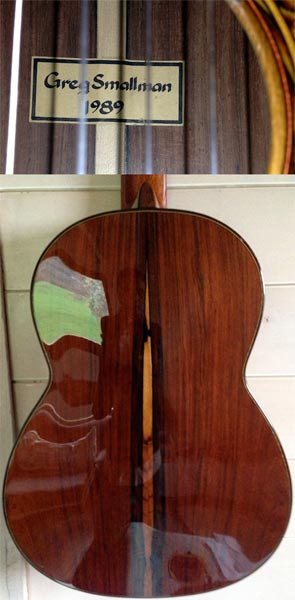 Early Musical Instruments, Classical Guitar by Greg Smallman